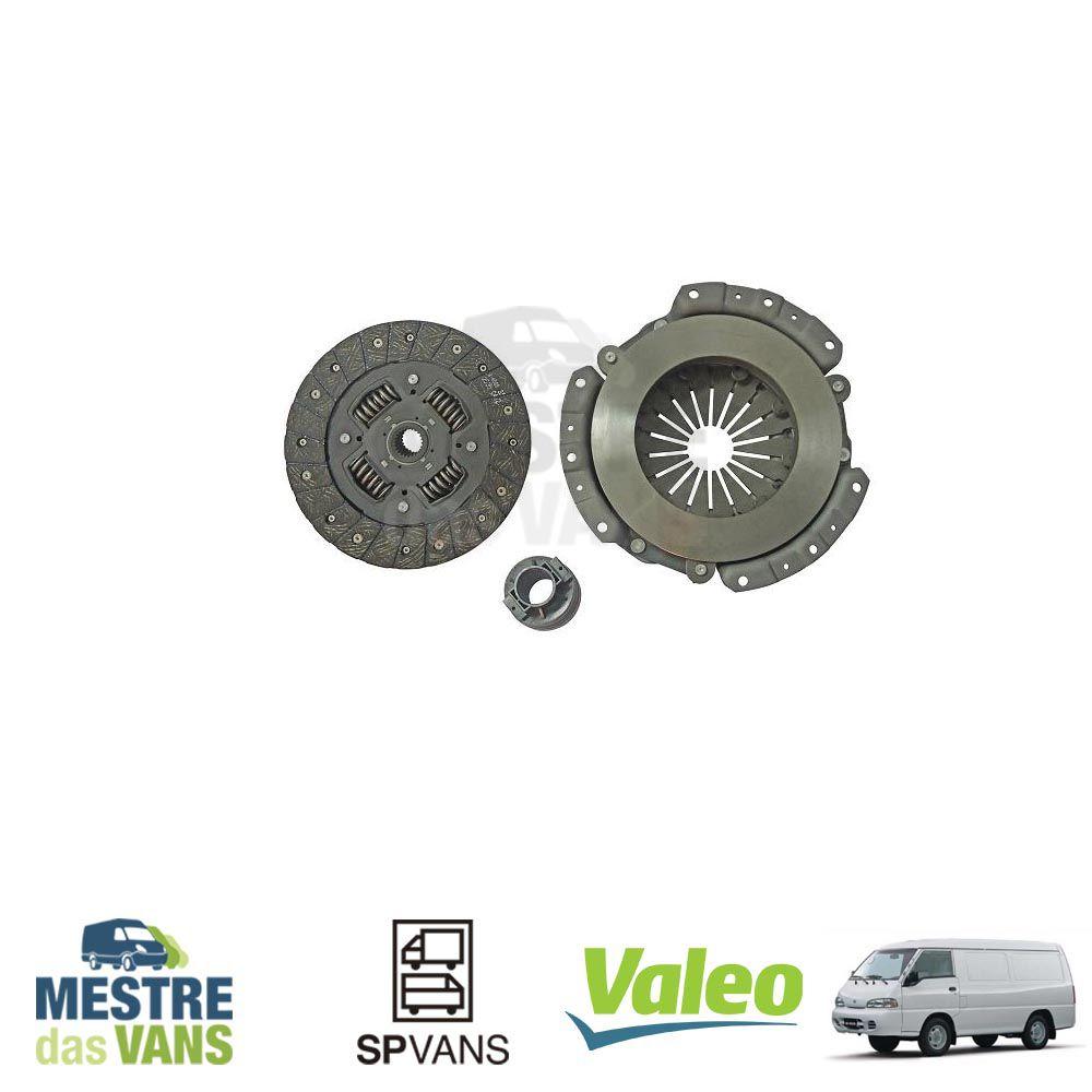 Kit embreagem H100/ L200 / Pajero 2.6L Gasolina Valeo