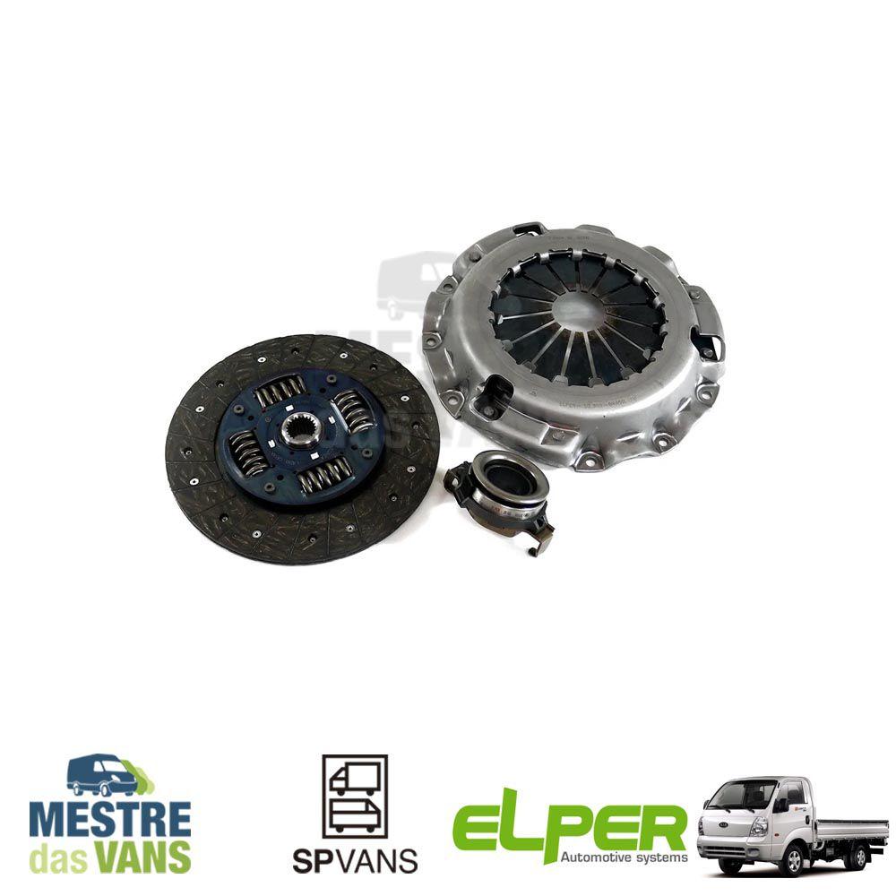 Kit embreagem HR/ K2500 /H1/ H100 01/... Elper (Seco)