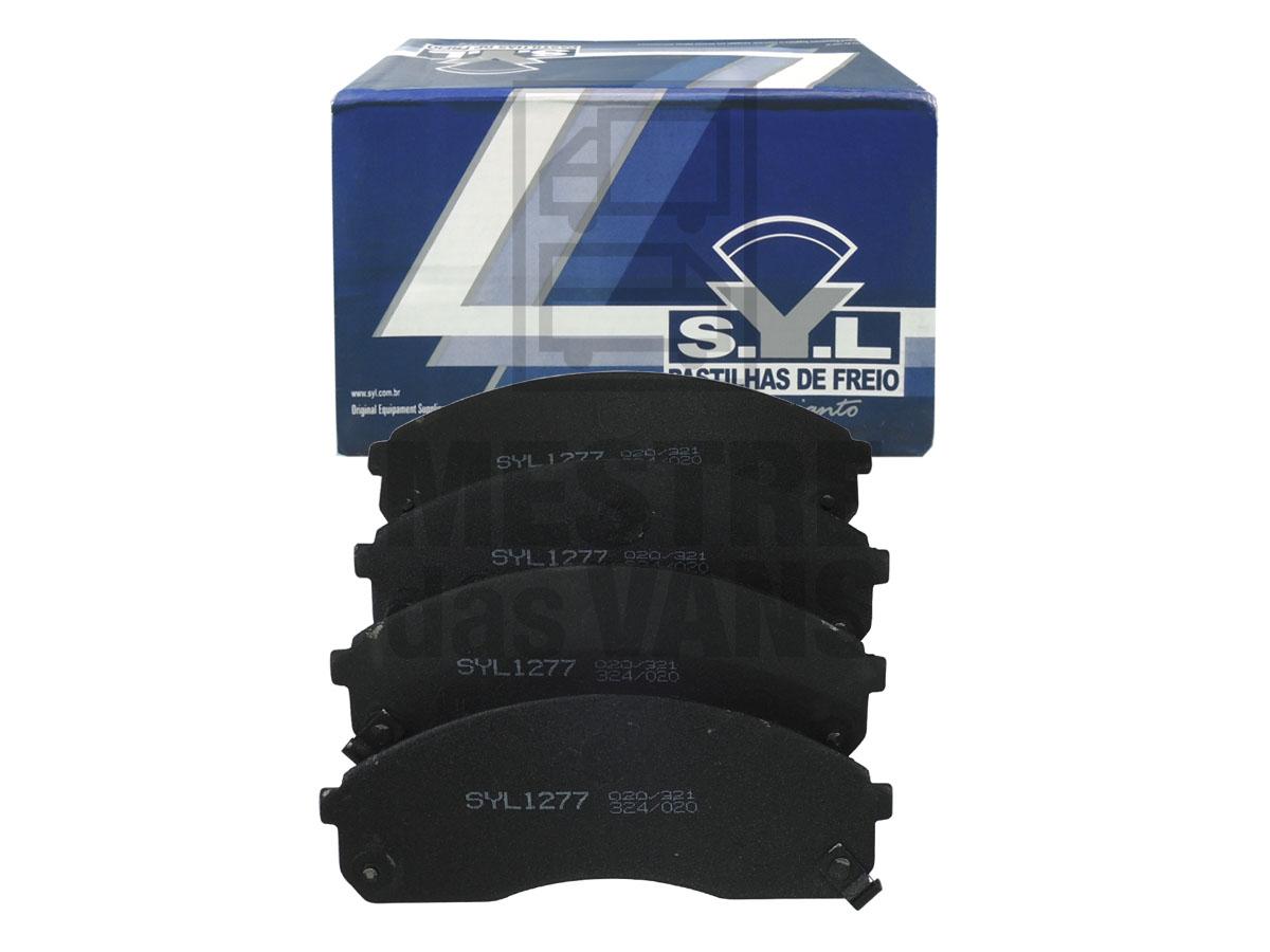 Pastilha de freio dianteira Besta GS 99/04 / HR SYL