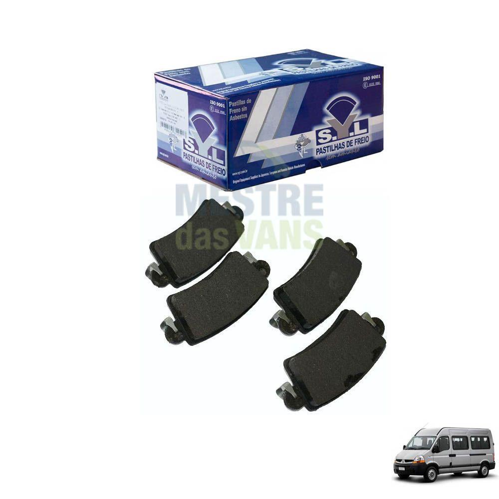Pastilha de freio traseira Renault Master até 2013 SYL