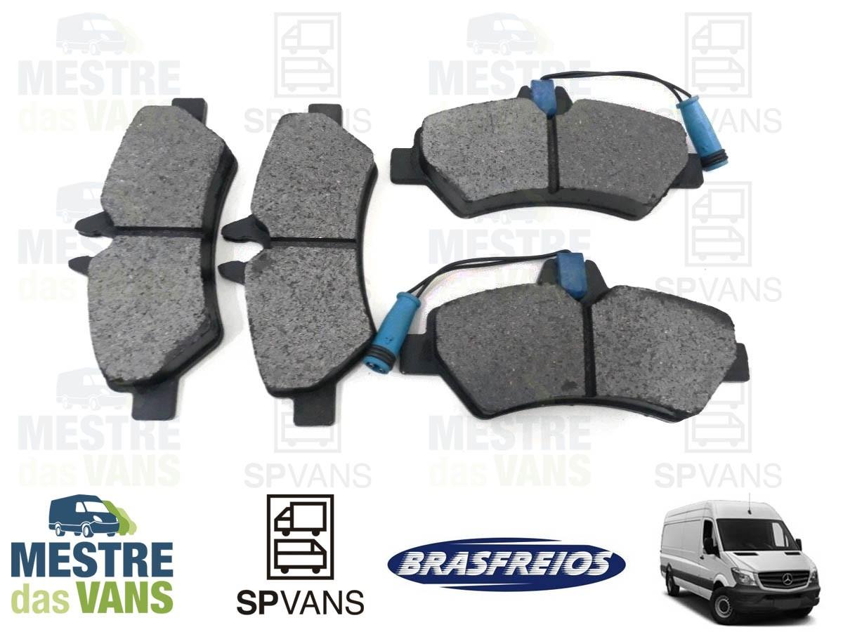 Pastilha de freio traseira Sprinter 311/313/415 12/... Brasfreios