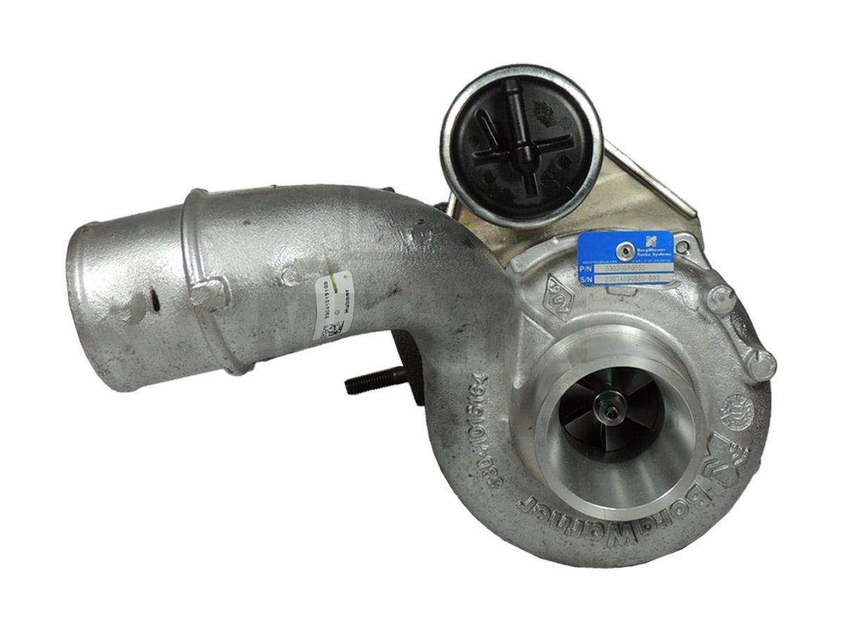 Turbina Motor Completa Renault Master Até 2011 BorgWarner