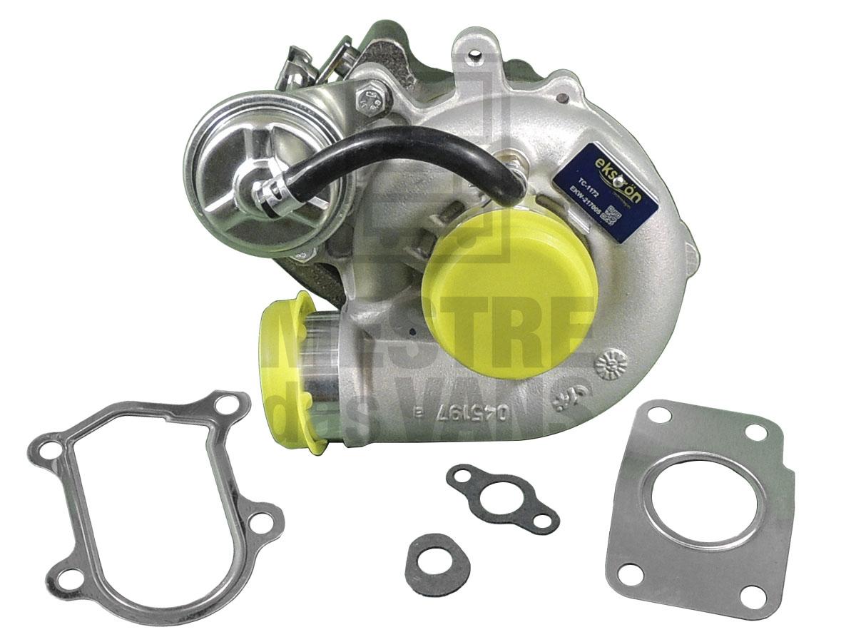Turbina motor Ducato Boxer Jumper 2.3 16V TD até 2017