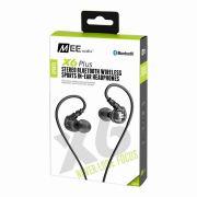 Fone de ouvido Mee Audio X6PLUS Bluetooth Preto