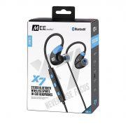 Fone de ouvido Mee Audio X7 Bluetooth Azul