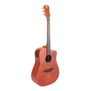 Violão Folk Elétrico PHX PX-41 Natural Satin Aço