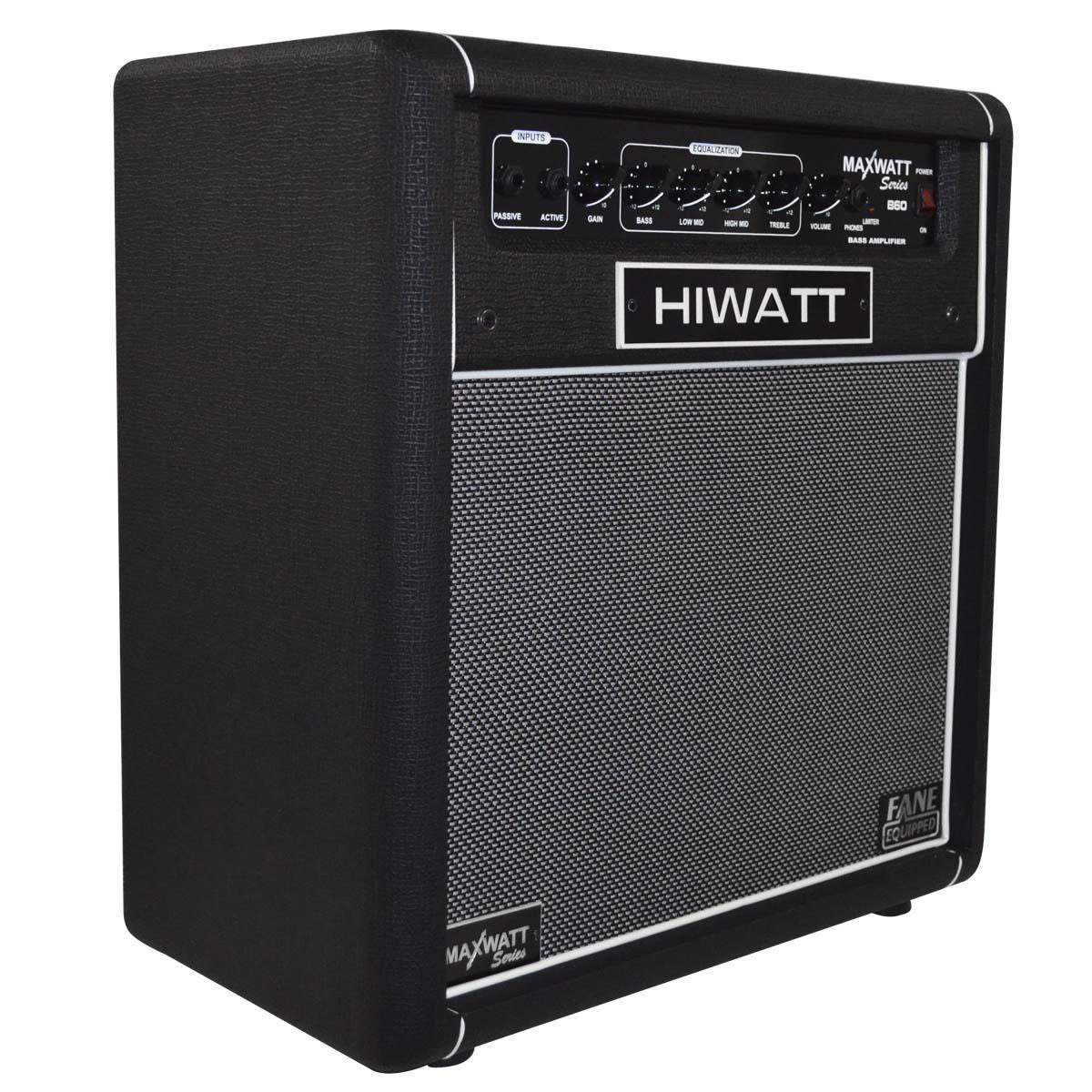 Amplificador Hiwatt Baixo Maxwatt Re B60/12