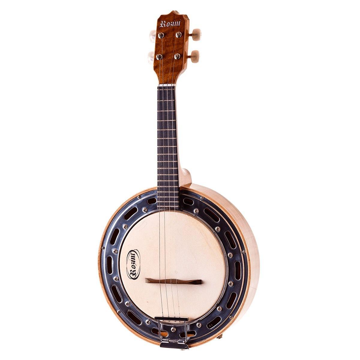 Banjo Studio Rozini Elétrico RJ11 ELN Imbuia