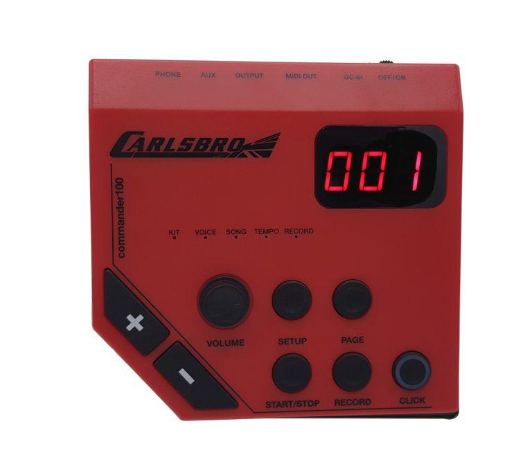 Bateria Odery Carlsbro CSD-100 PRETA