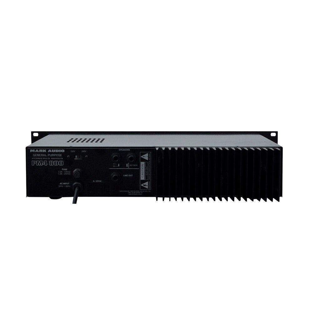 Cabeçote Autoamplificado Mark Audio PM4-800