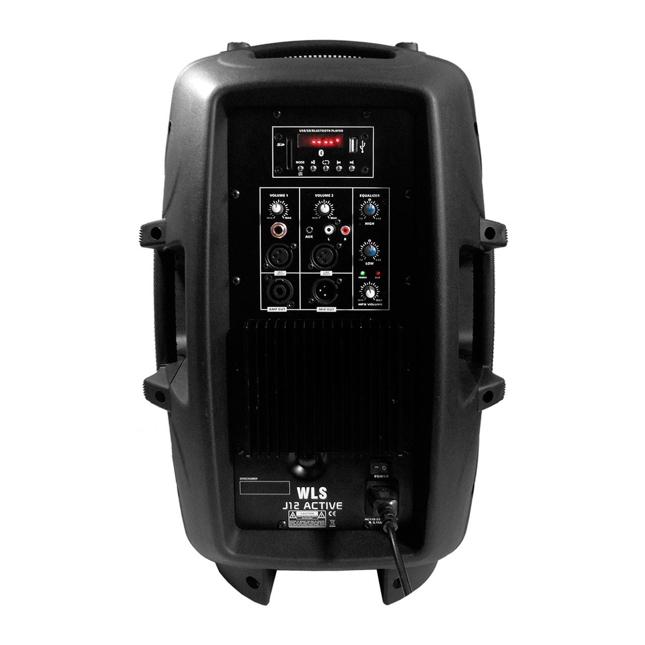 Caixa Acústica Ativa WLS J12 Pro