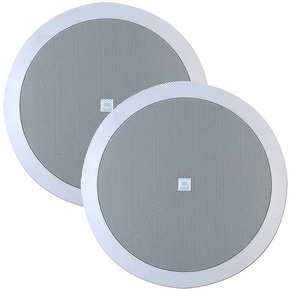 Caixa Ambiente Arandela JBL 6CO1R Redonda Branca (Par)