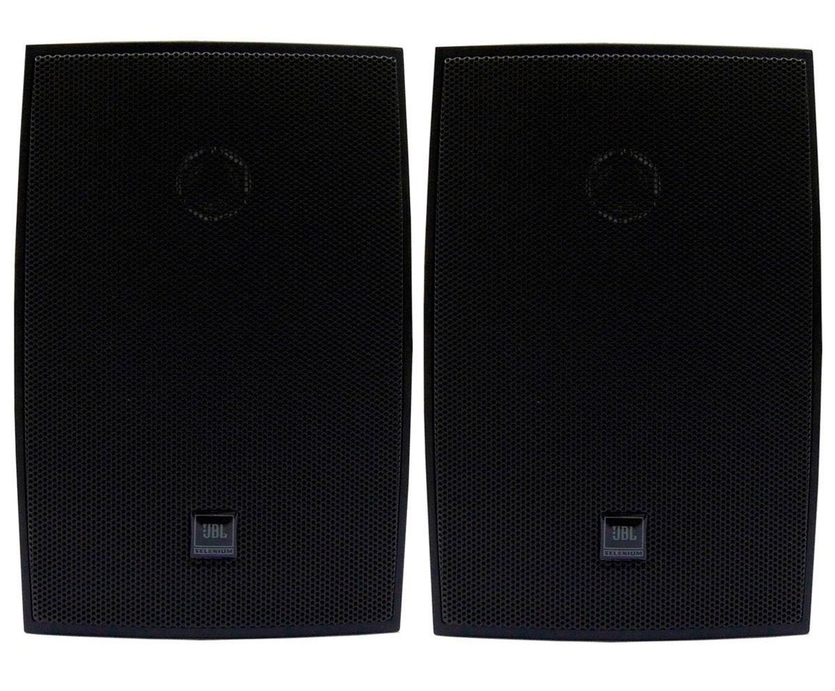 Caixa Ambiente JBL C621P Preta (Par)