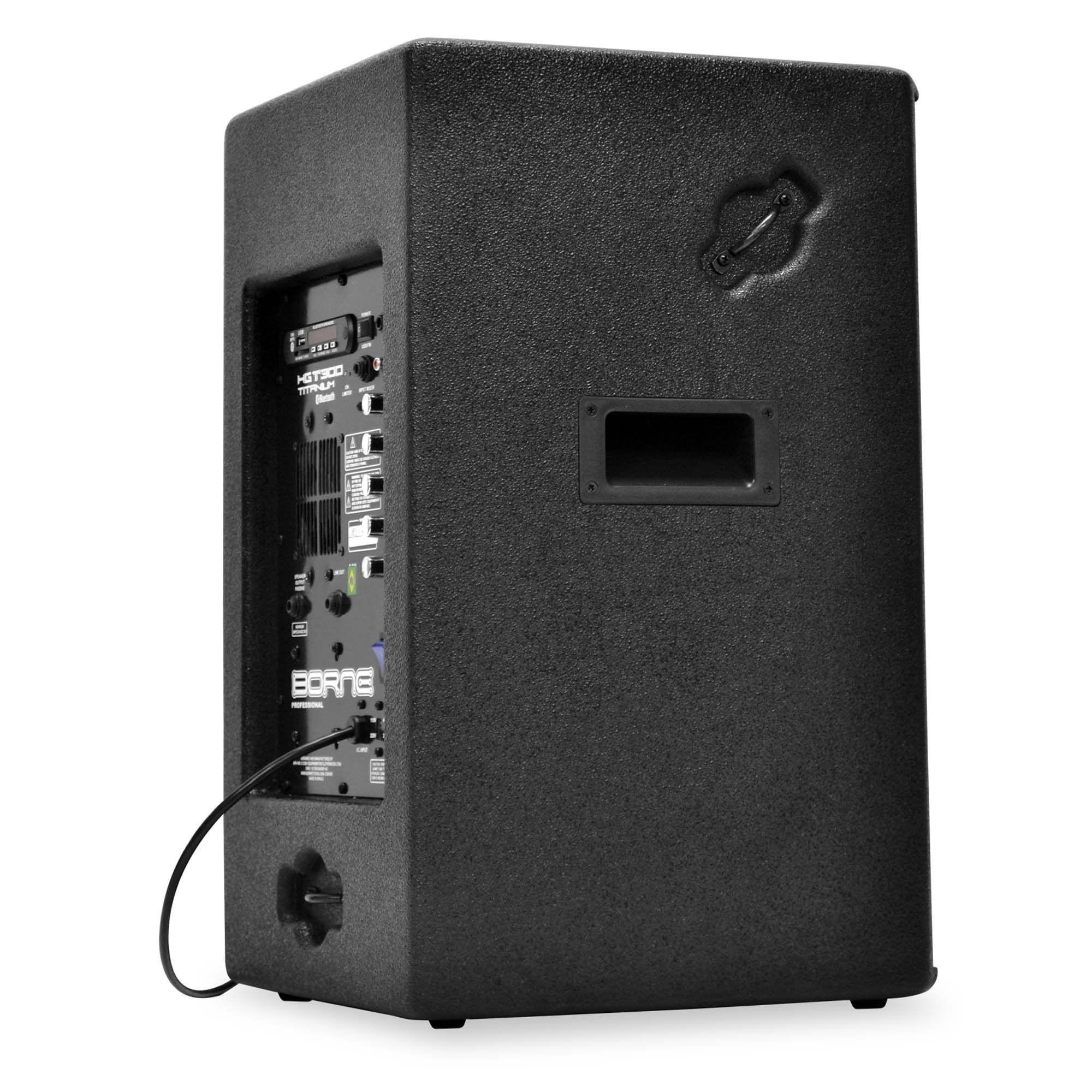 Caixa Ativa Borne HGT300 Titanium Bluetooth