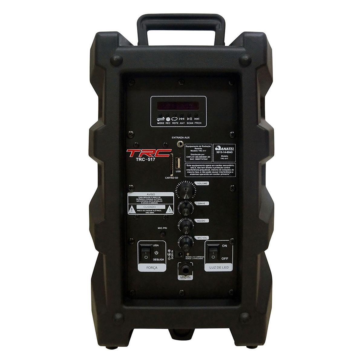 Caixa de Som Amplificada Ativa TRC 517 - 190W