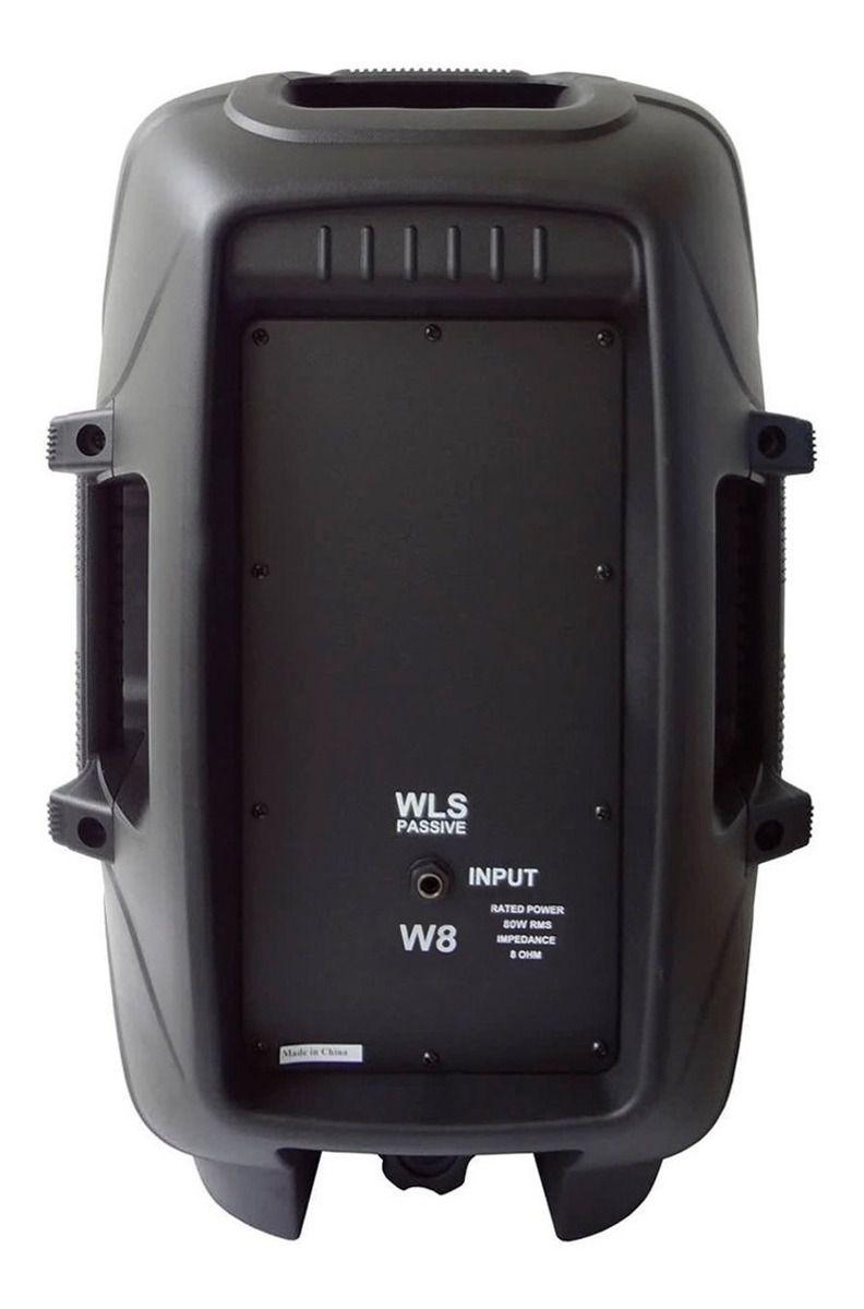 Caixa WLS W8 Passiva - BK