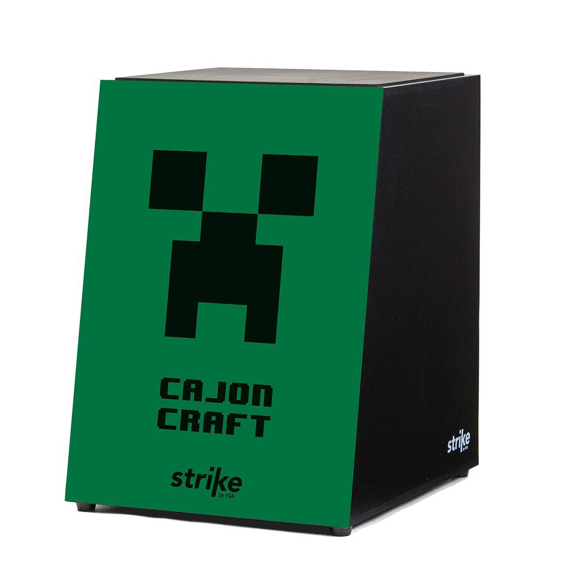 Cajon FSA Strike SK4039 Craft Verde - Acústico