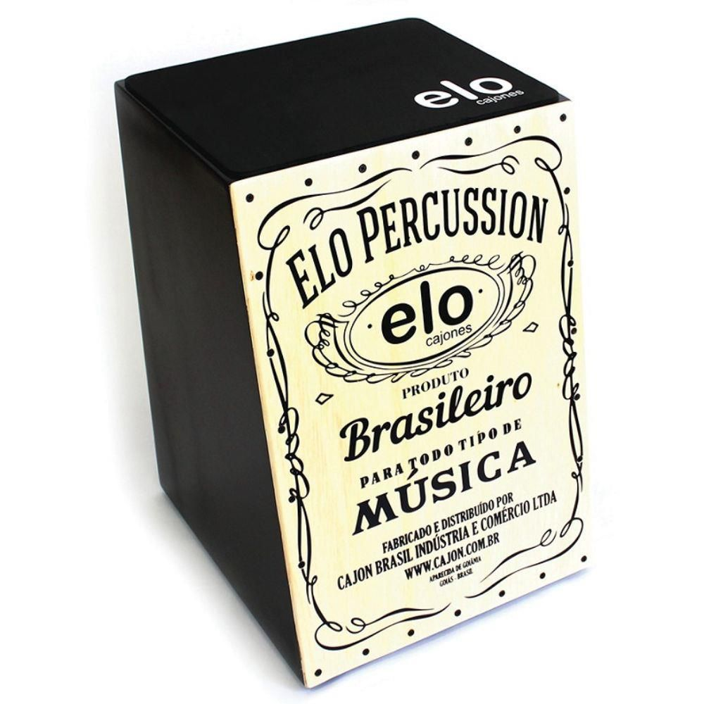Cajon Percussion Elo EL 505 Natural - Acústico