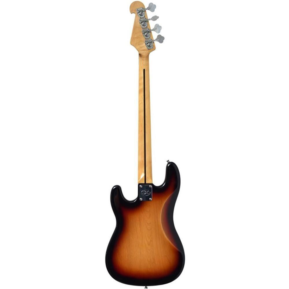 Contrabaixo Precision Bass SX 4 Cordas SPB57 Sunburst