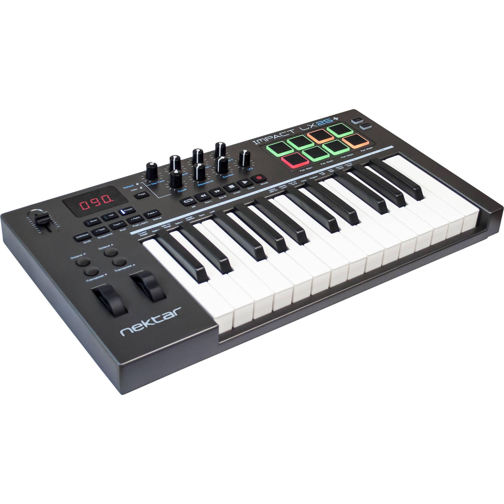 Controlador Nektar Impact LX25+ MIDI