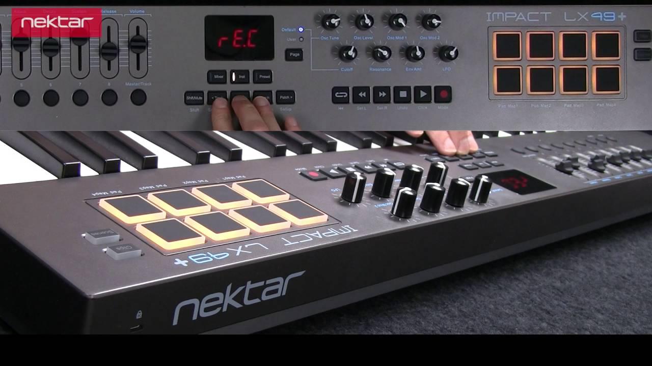 Controlador Nektar Impact LX49+ MIDI