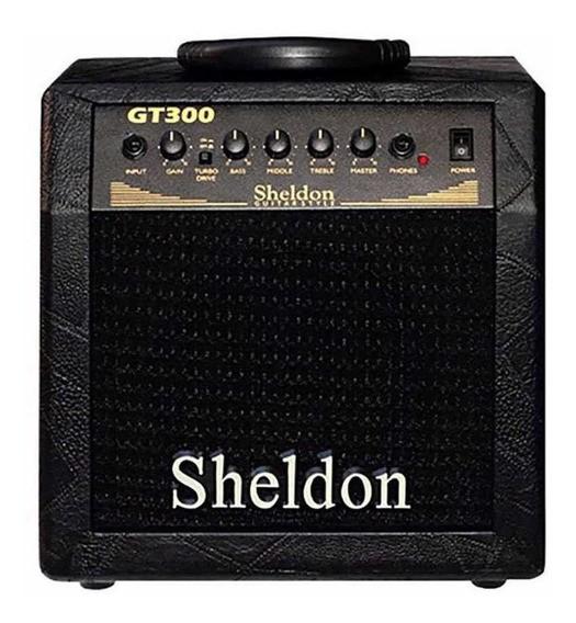 Cubo Amplificador Sheldon Para Guitarras GT300