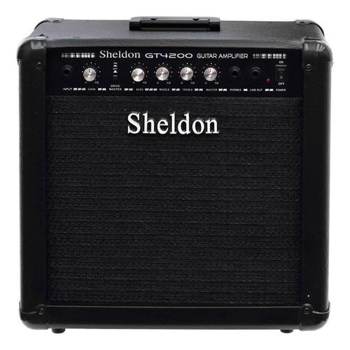 Cubo Amplificador Sheldon Para Guitarras GT4200