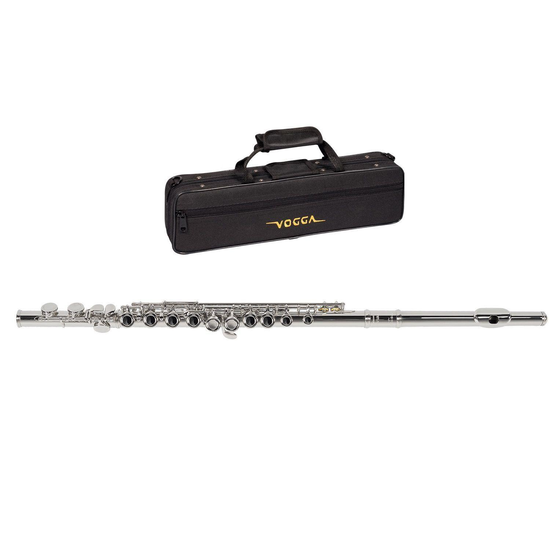 Flauta Transversal Vogga VSFL701 Niquelada