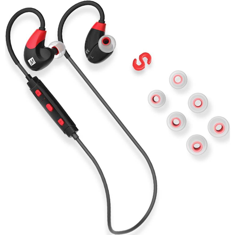 Fone de ouvido Mee Audio X7 Bluetooth Vermelho