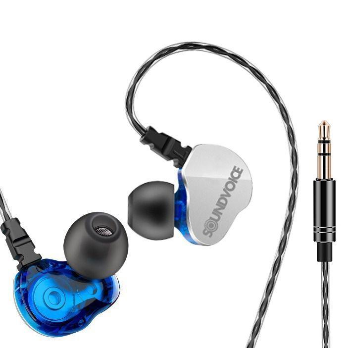 Fone In-Ear Profissional Retorno de Palco Soundvoice IE-01