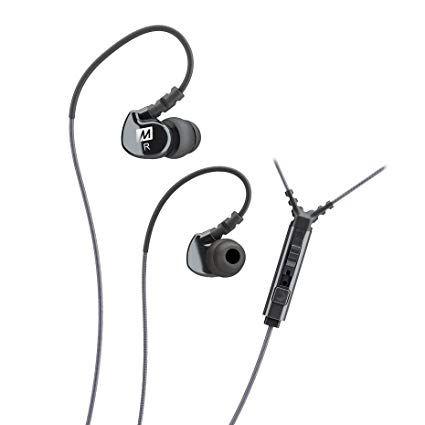 Fone de ouvido Mee Audio M6P Sport-Fi Preto