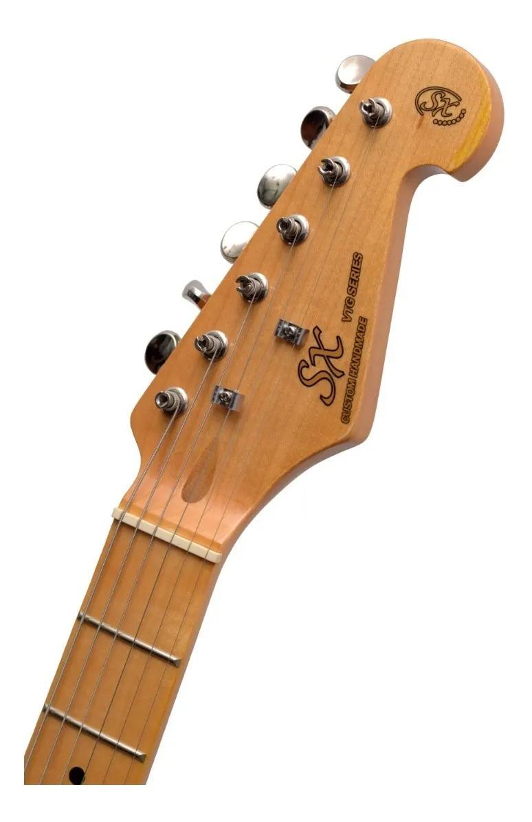Guitarra Stratocaster SX SST57 Vintage Preta
