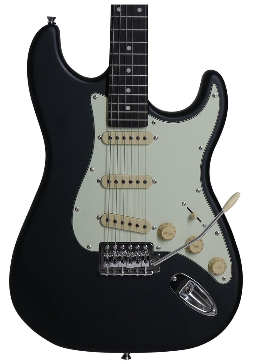 Guitarra Stratocaster Tagima Memphis MG-30 Preto Satin