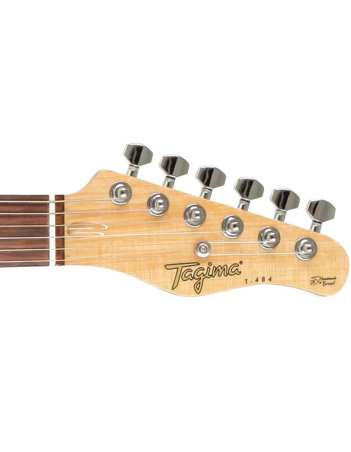 Guitarra Tagima T-484 Semi Acústica Vintage Branco