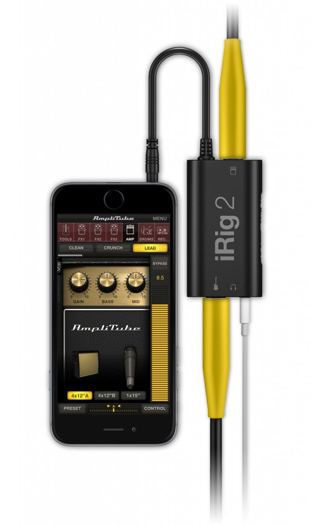 Interface IK Multimedia iRig 2 - iOS e Android