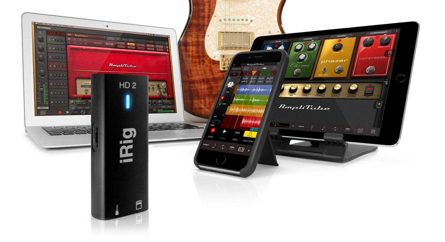 Interface IK Multimedia iRig HD 2 - iOS