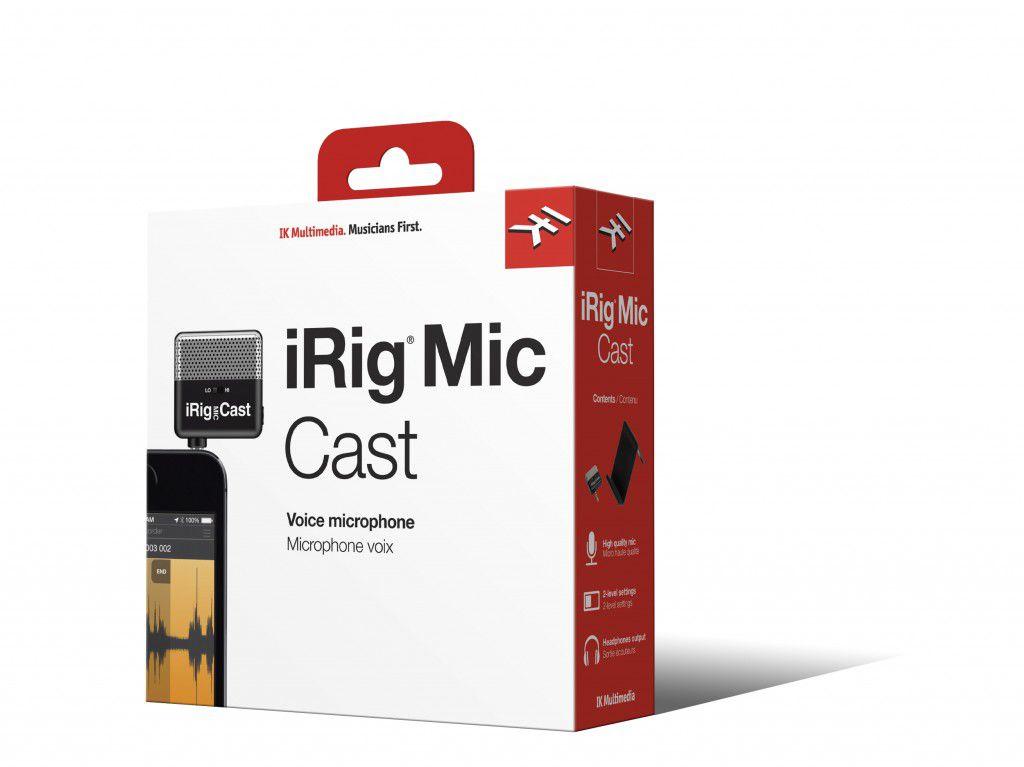 Interface IK Multimedia iRig Mic Cast