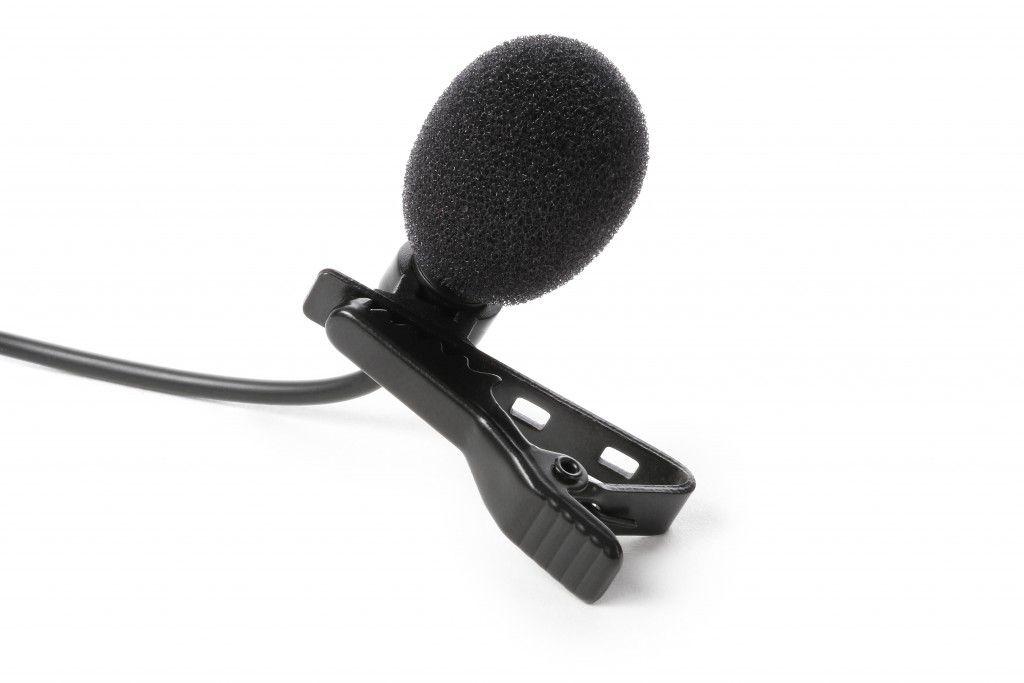 Interface IK Multimedia iRig Mic Lav - Microfone de Lapela