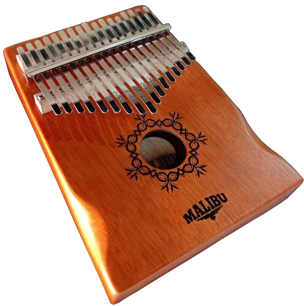 Kalimba Malibu 17 Notas KB-50 Mahogany