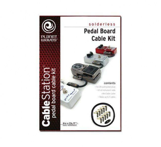 Kit Cabo Pedal Sem Solda Planet Waves PW-GPKIT-10 3.05m