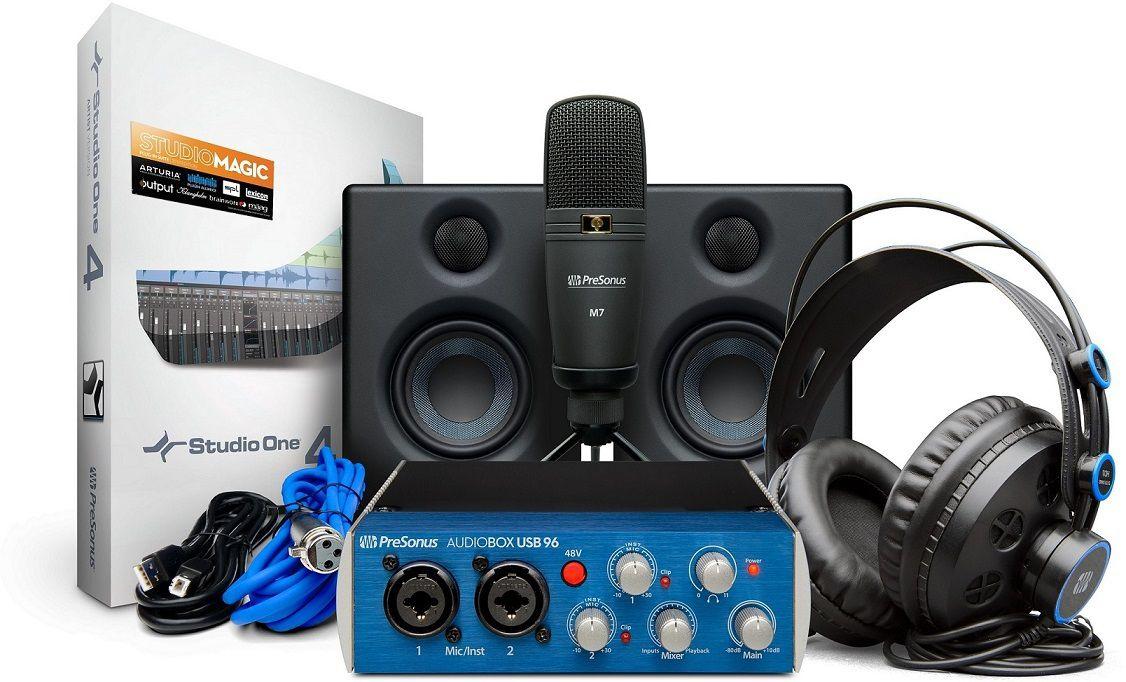 Kit Presonus Audiobox Ultimate Bundle – Home Studio