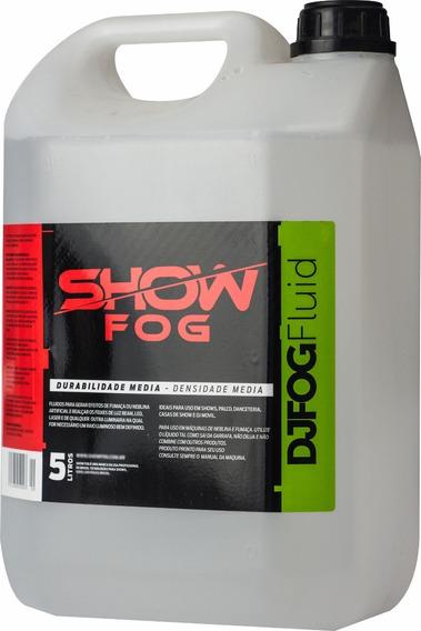 Líquido Para Máquina de Fumaça Show Fog 5L Tutti-Frutti