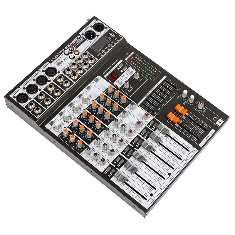 Mesa de Som Analógica Soundcraft SX-802FX