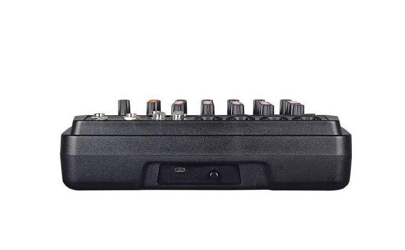 Mesa de Som Compacta Soundvoice MC6-BT 6 Canais