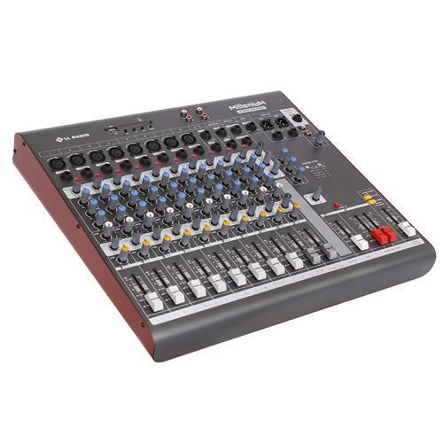 Mesa de Som LL Áudio Millenium MX-1202D