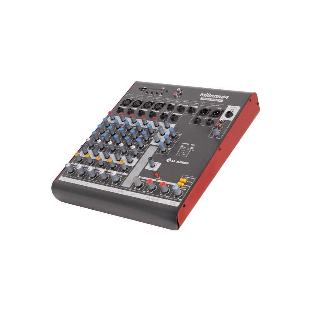 Mesa de Som LL Áudio Millenium MX-602R