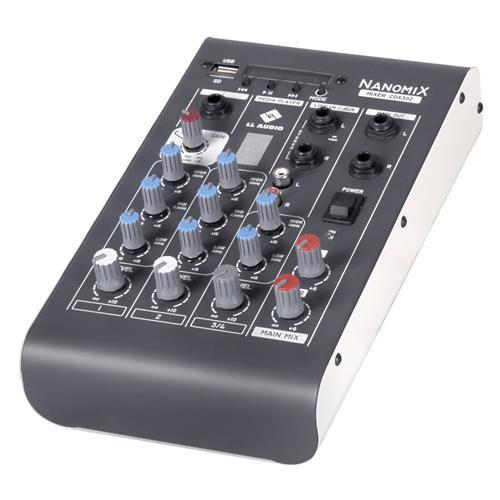 Mesa de Som LL Áudio Nanomix CDX-302R