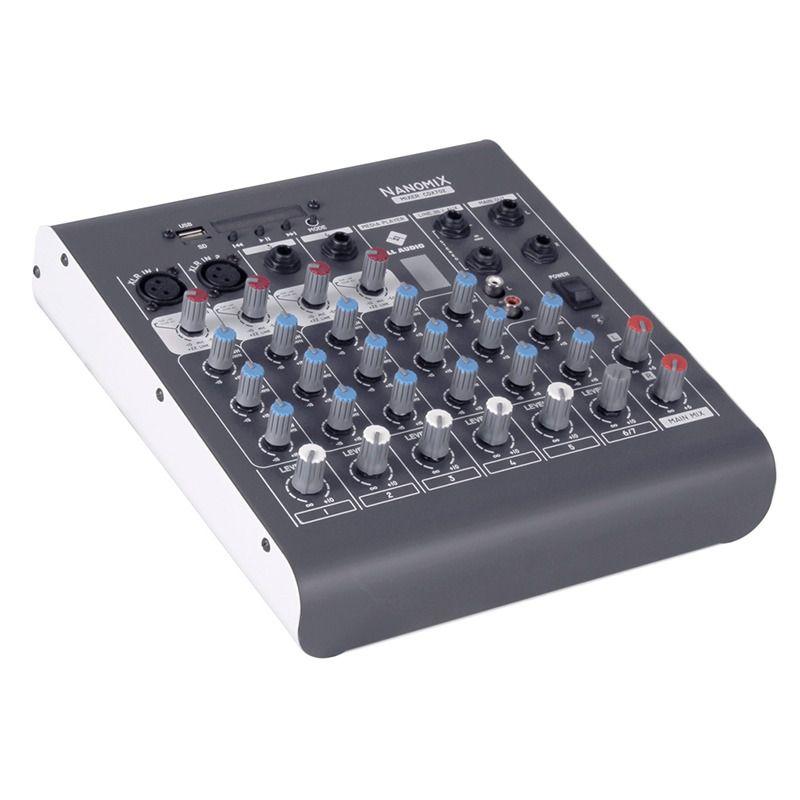 Mesa de Som LL Áudio Nanomix CDX-702R