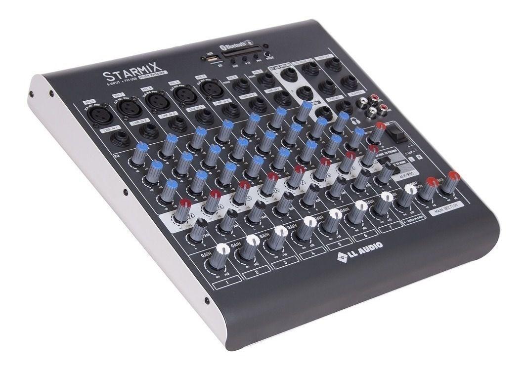 Mesa de Som LL Áudio Starmix XMS-602R