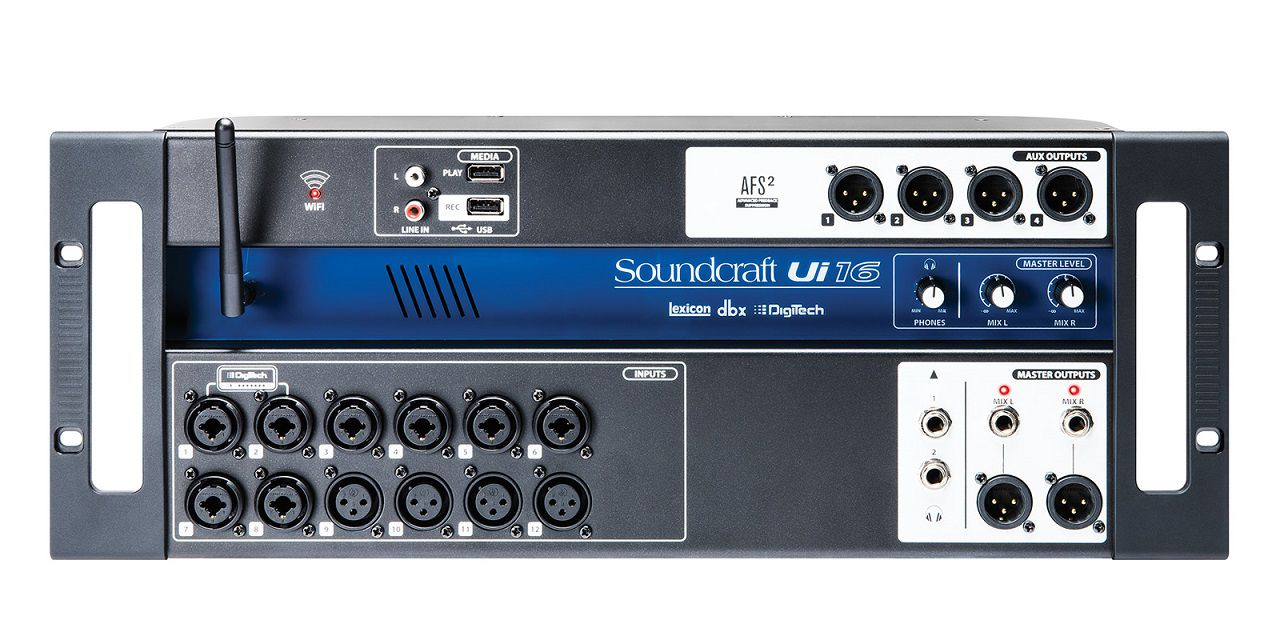 Mesa de Som Soundcraft Ui-16 Digital